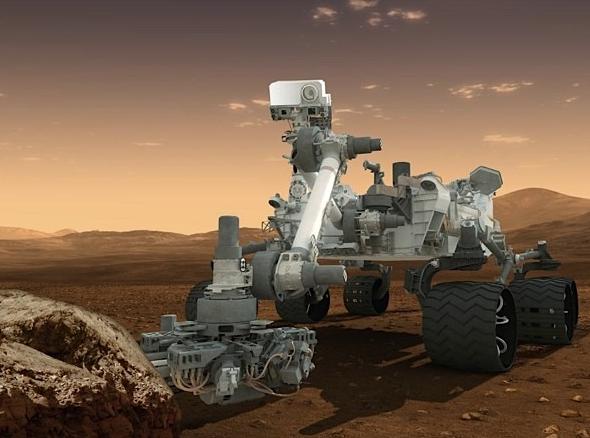 Curiosty on Mars