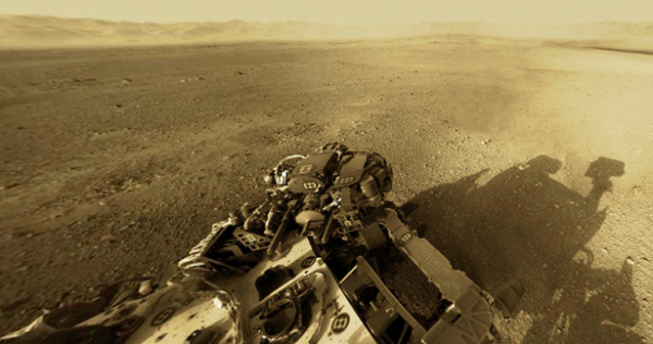 Curiosity panorama