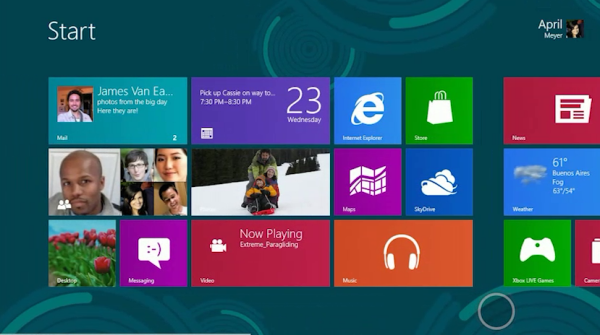 Windows 8 UI