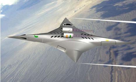 Sonic Boom free NASA Plane